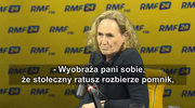 Malinowska-Grupińska o pomniku smoleńskim: Jestem sobie w stanie wyobrazić, że zostanie przeniesiony