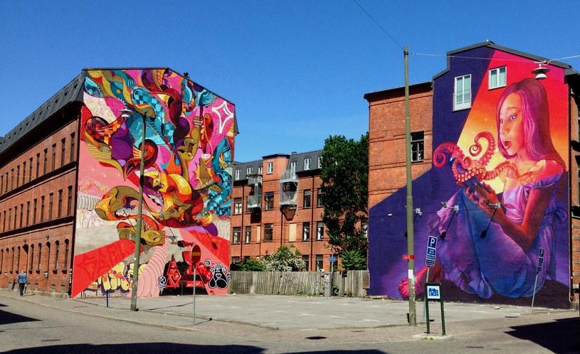 Malmö, Szwecja (autor graffiti: Natalia Rak) / Pia M /Scoopshot