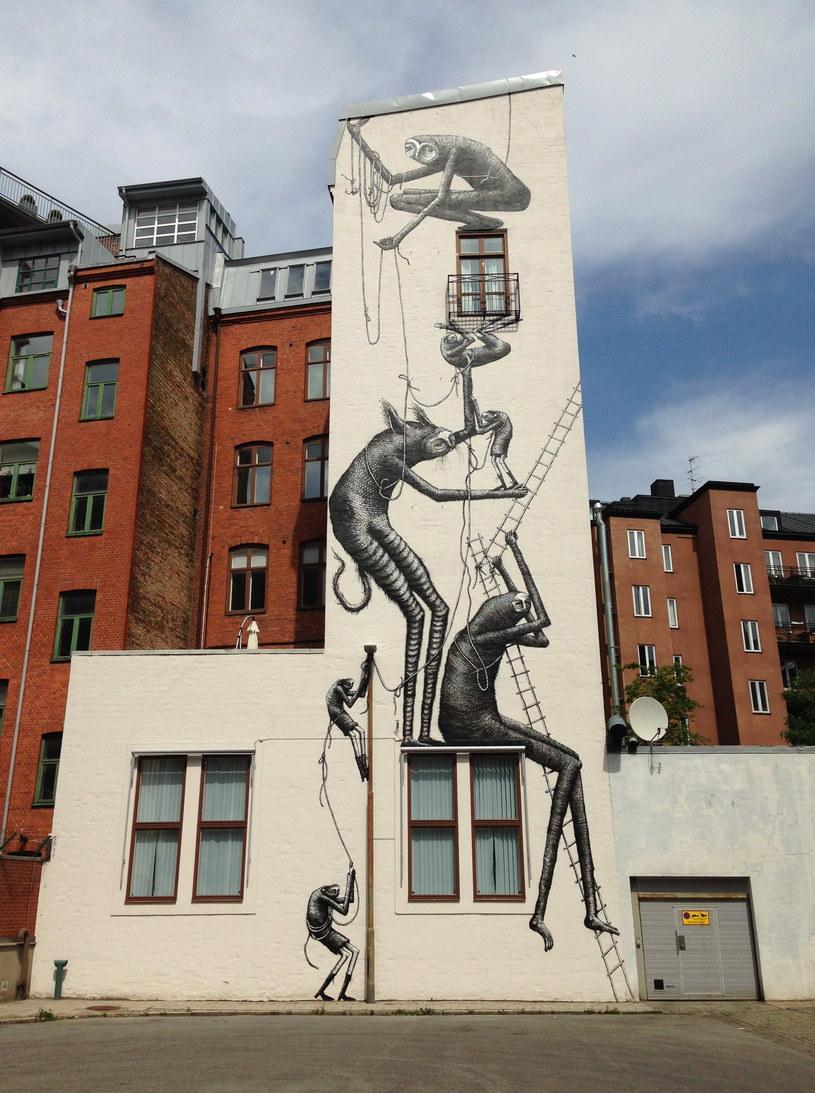 Malmö, Szwecja (autor graffiti: Phleg) /Pia M /Scoopshot