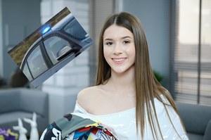 Małoletnia gwiazda w BMW podszywała się pod policję?