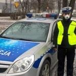 Małopolscy policjanci dostali pierwsze maseczki antysmogowe