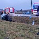 Małopolska: Groźny wypadek w Strzegowej. Pięć osób rannych