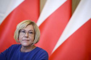 Małopolska kurator oświaty Barbara Nowak musi przeprosić ZNP. Chodzi o wypowiedź o strajku nauczycieli