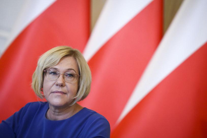 Małopolska kurator oświaty Barbara Nowak /Beata Zawrzel /Reporter
