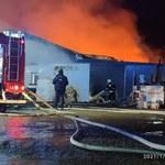 Małopolska: Pożar tartaku w Przeciszowie