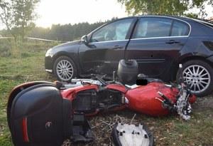 Małopolska: Śmierć 48-letniego motocyklisty ze Świętokrzyskiego