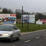 Małopolska zaczyna walkę z reklamami. Billboardy wzdłuż zakopianki mają zniknąć