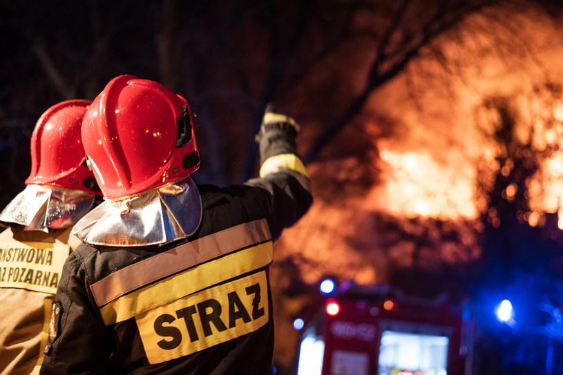 Małopolskie/ 14-latka zginęła w pożarze drewnianego domu, zdj. ilustracyjne /Piotr Dziurman /Reporter