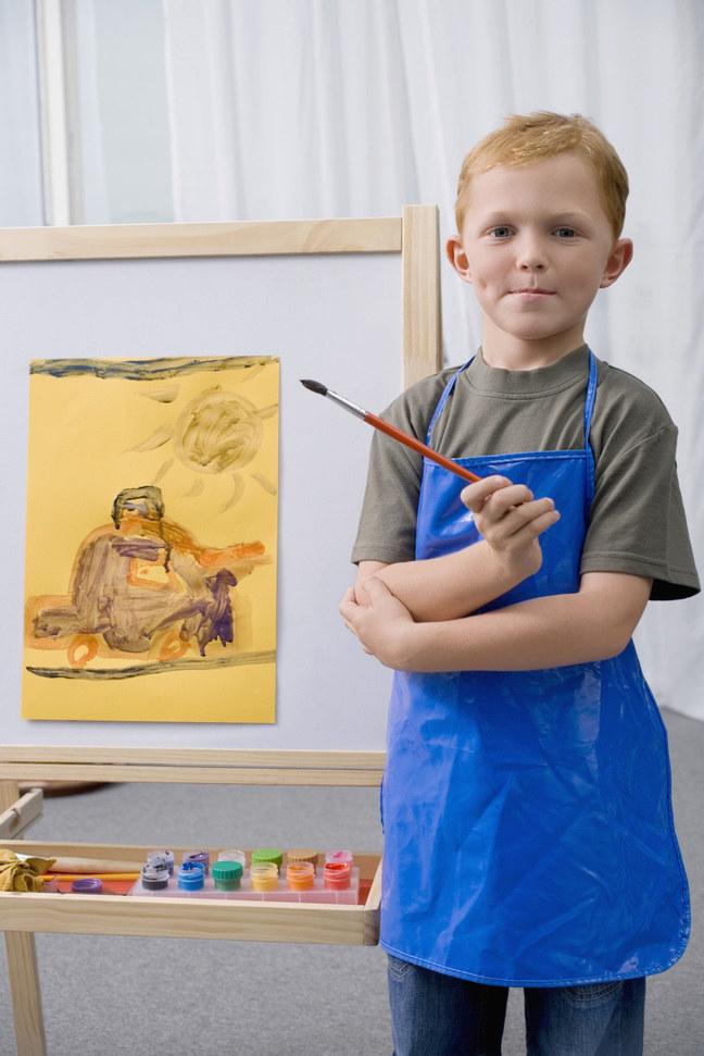 malowanie dzieci /© Photogenica