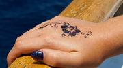 Malowanie henną: By nie pozostał ślad
