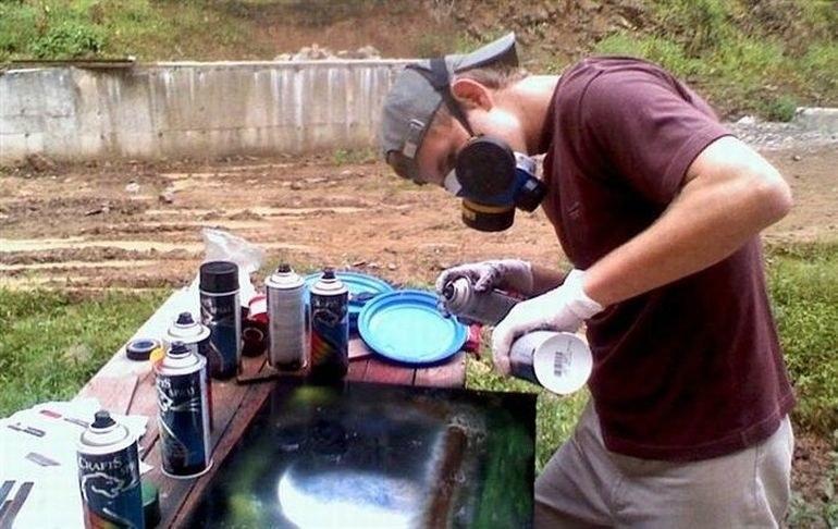 Malowanie sprayem porady /© Photogenica