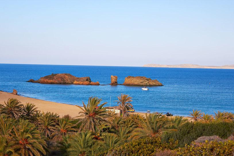 Malownicza plaża Vai - wschodnia Kreta /123RF/PICSEL