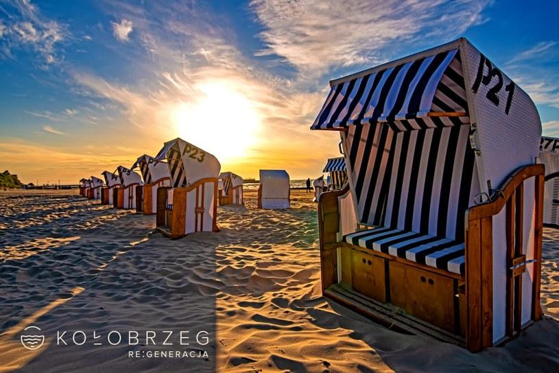Malownicze plaże Kołobrzegu zachęcają do aktywnego wypoczynku /materiały prasowe