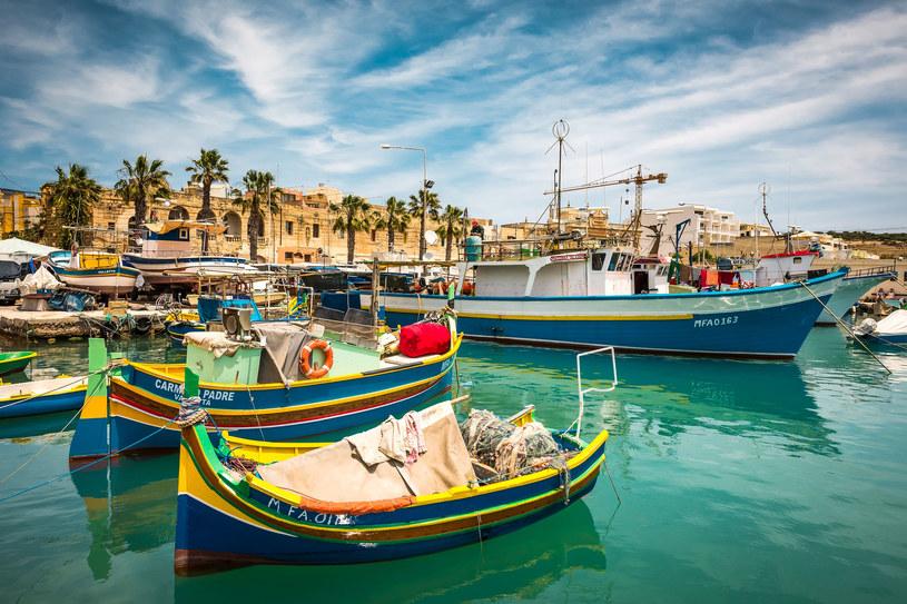 Malta: Rybacka wioska Marsaxlokk /123RF/PICSEL