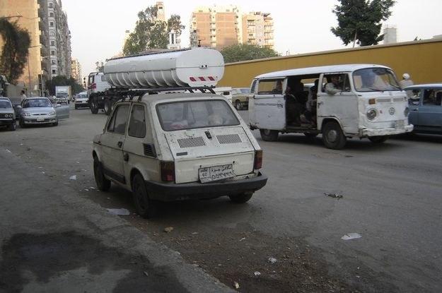 Maluch w Kairze /