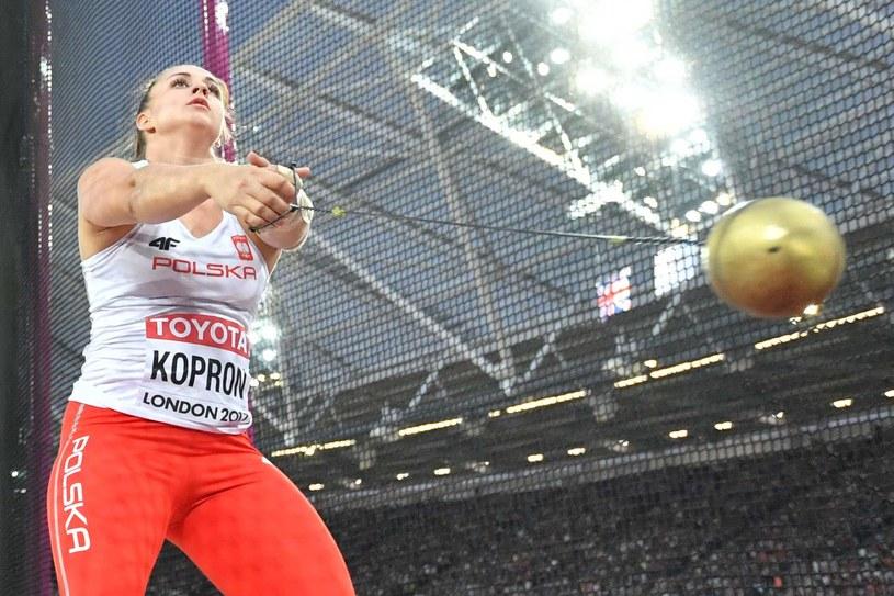 Malwina Kopron zdobyła kolejny medal /BEN STANSALL /AFP