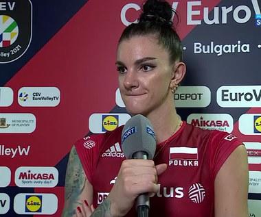 Malwina Smarzek: Bułgarki próbowały psychologicznych gierek (POLSAT SPORT) Wideo