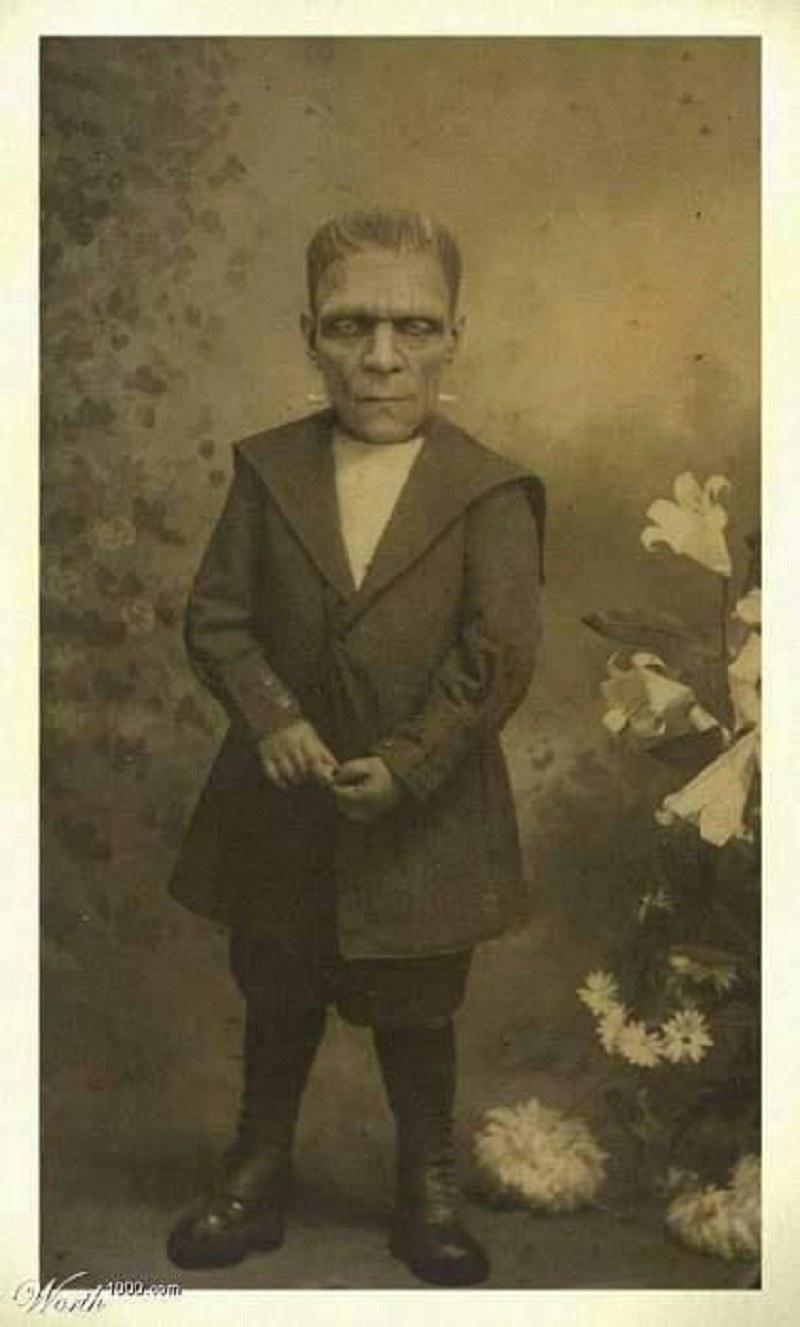 Mały Frankenstein /imgur.com