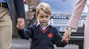 Mały George w szkolnych jasełkach