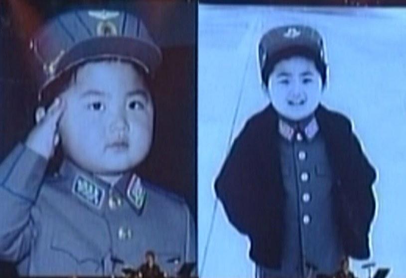 Mały Kim Dzong Un /AFP