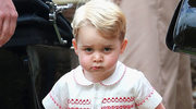Mały książę George rozbraja wszystkich słodkimi minkami!