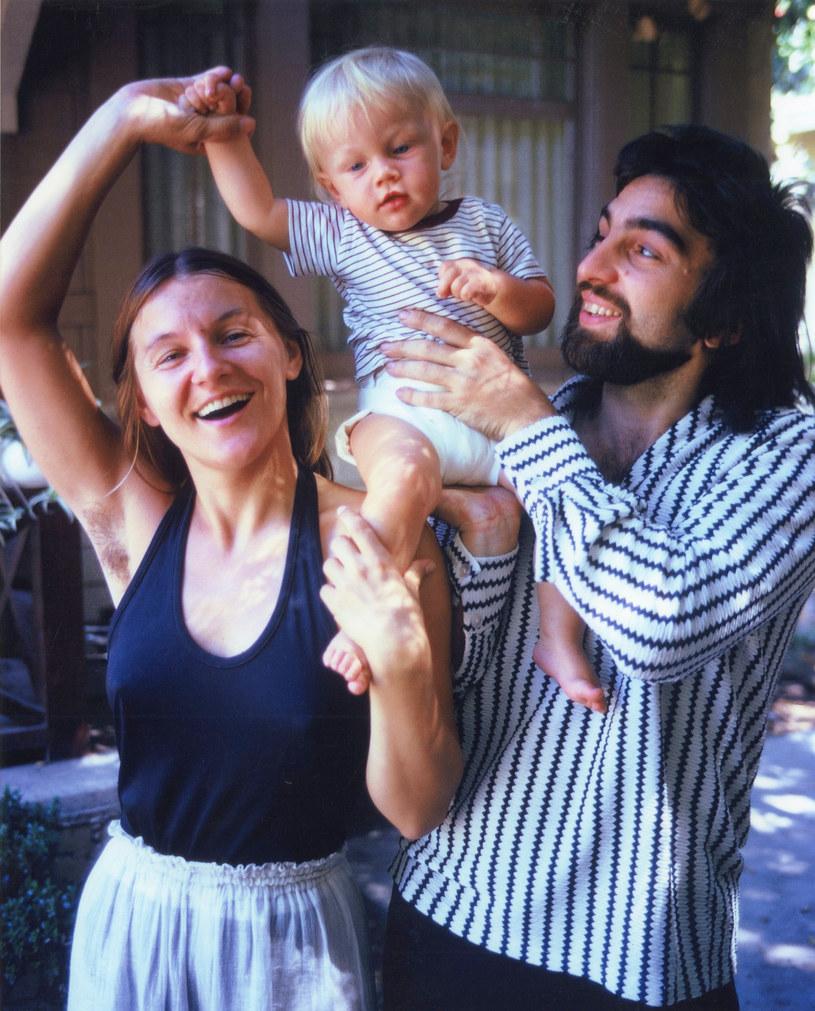 Mały Leonardo DiCaprio z rodzicami /Peter Fleming /Getty Images