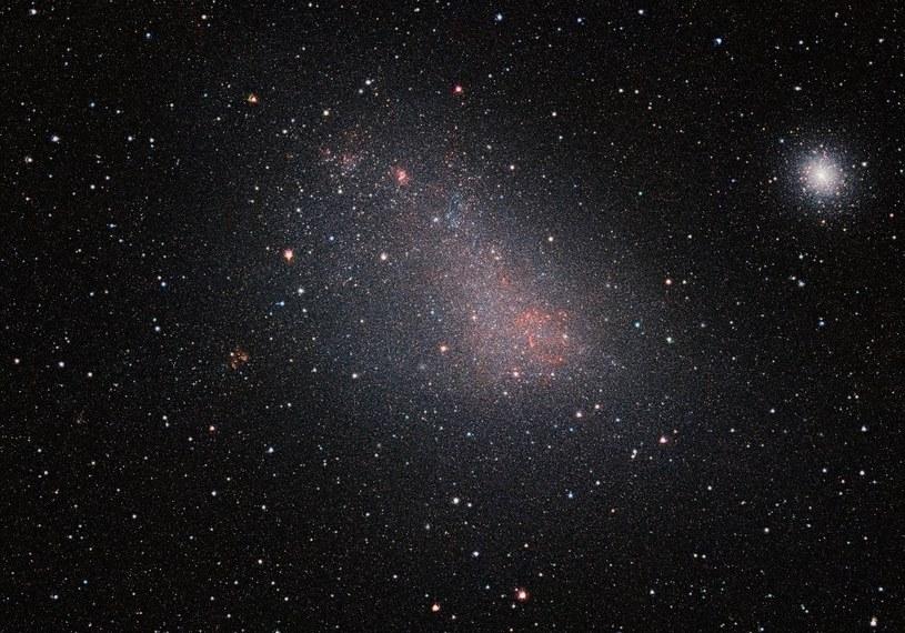 Mały Obłok Magellana uchwycony przez teleskop VISTA /materiały prasowe