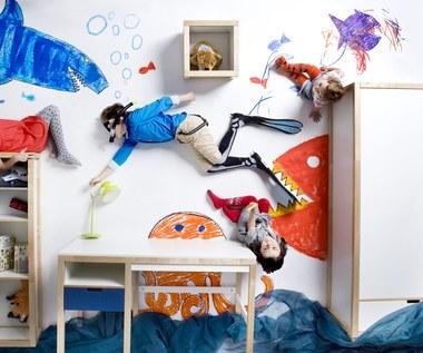 Mały Picasso WOLI rysować na ścianie