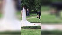 Mały rozrabiaka na weselu. Nie uwierzycie!