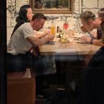 Małyszowie na kolacji z córką i zięciem