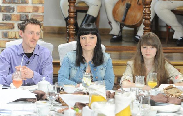 Małyszowie w komplecie: Adam, Iza i Karolina, fot.Mateusz Jagielski