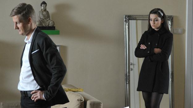"""Małżeński kryzys w """"M jak miłość"""" /Agencja W. Impact"""