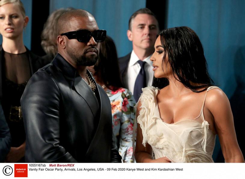Małżeństwo Kim Kardashian i Kanye'go Westa przez lata zmagało się z problemami /Matt Baron/REX /East News