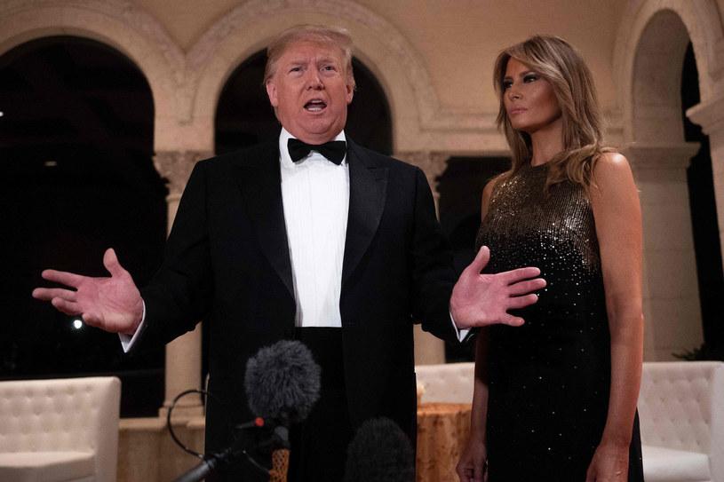 Małżeństwo Melanii i Donalda Trumpów na pewno nie jest sielankowe /Jim Watson / AFP  /East News