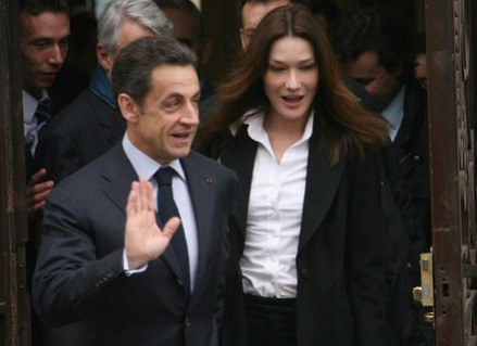 Małżeństwo pierwszej pary Francji nie rozpada się /Getty Images/Flash Press Media
