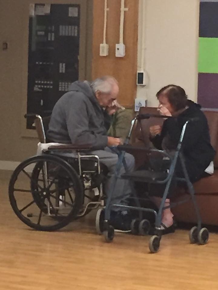 Małżeństwo zostało rozdzielone po 62 latach /Ashley Kaila B /facebook.com