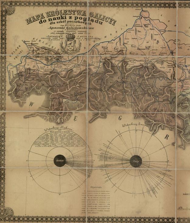 Mam Królestwa Galicji i Lodomerii z XIX wieku /Polona /domena publiczna