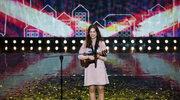 """""""Mam talent"""": 15-letnia Karolina Szkiłądź dostała złoty przycisk (""""Trzeba biec"""")"""