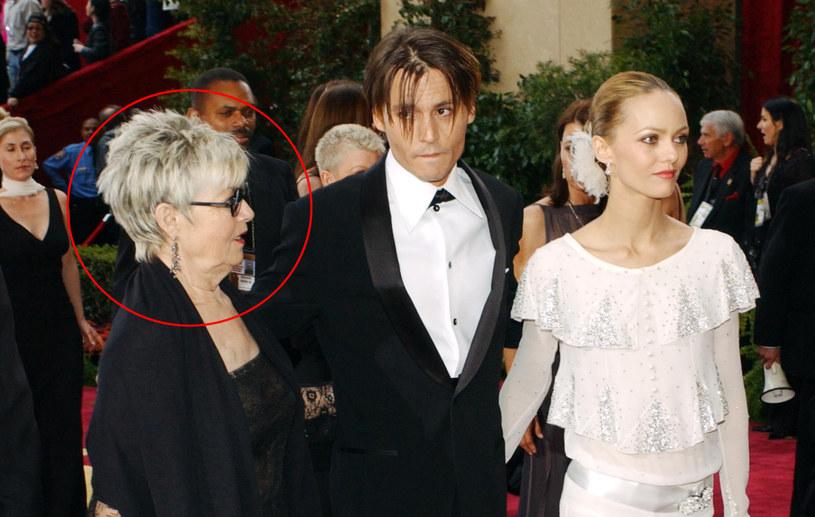 Mama jest dla Johnny'ego Deppa ideałem kobiety! /Frazer Harrison /Getty Images