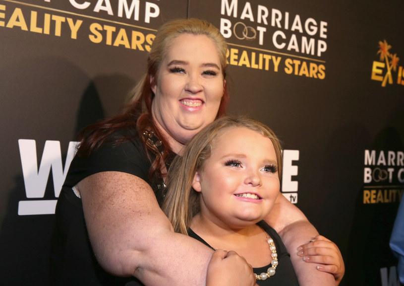 Mama June z córką /Jonathan Leibson /Getty Images