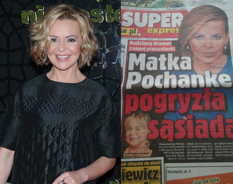 """Mama Justyny Pochanke bohaterką artykułu w """"Super Expressie"""" /Paweł Wrzecion /MWMedia"""