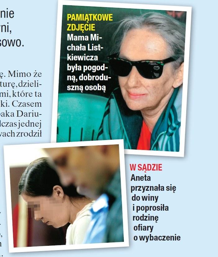 Mama Listkiewicza i jej morderczyni /- /Na żywo