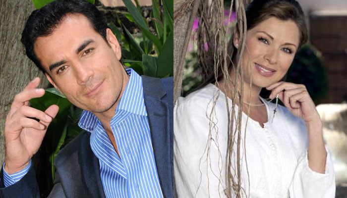 Mama starsza o pięć lat: David i Leticia w telenoweli wyglądali jak para zakochanych, a nie syn i matka /materiały prasowe