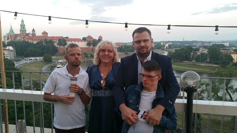 Mama, tata i dwóch Wojtków: Prawdziwa rodzina /archiwum prywatne