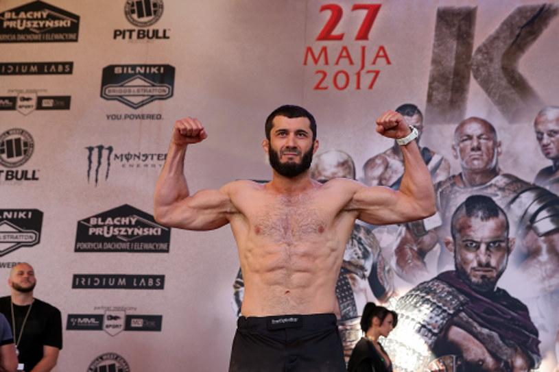 Mamed Chalidow jest kuszony przez czeczeńską organizację ACB /Fot. Piotr Kucza /Newspix