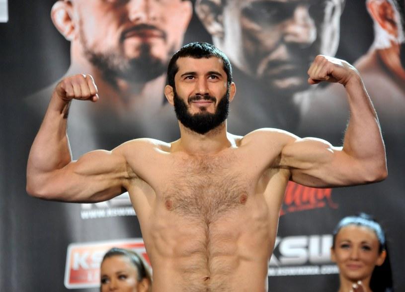 Mamed Khalidov przed jedną z walk federacji KSW /East News