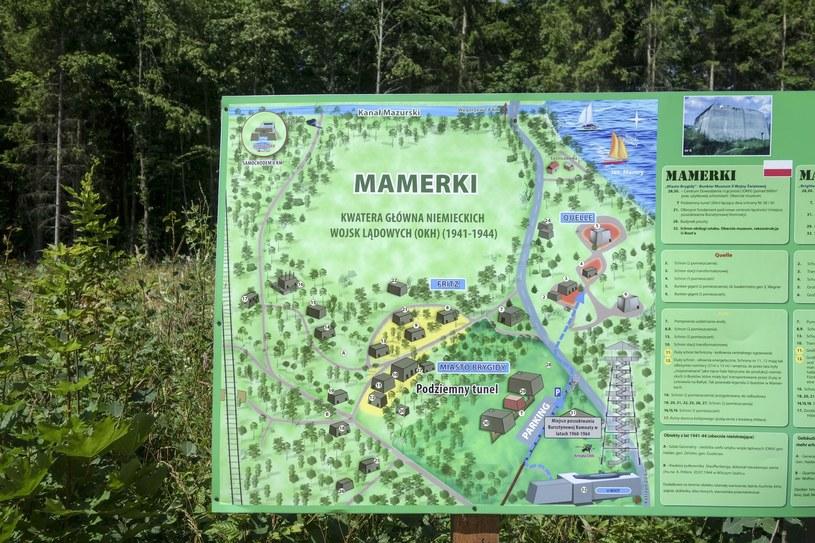 Mamerki - Kwatera Glowna Niemieckich Wojsk Ladowych na Mazurach /Piotr Kamionka/REPORTER /Reporter