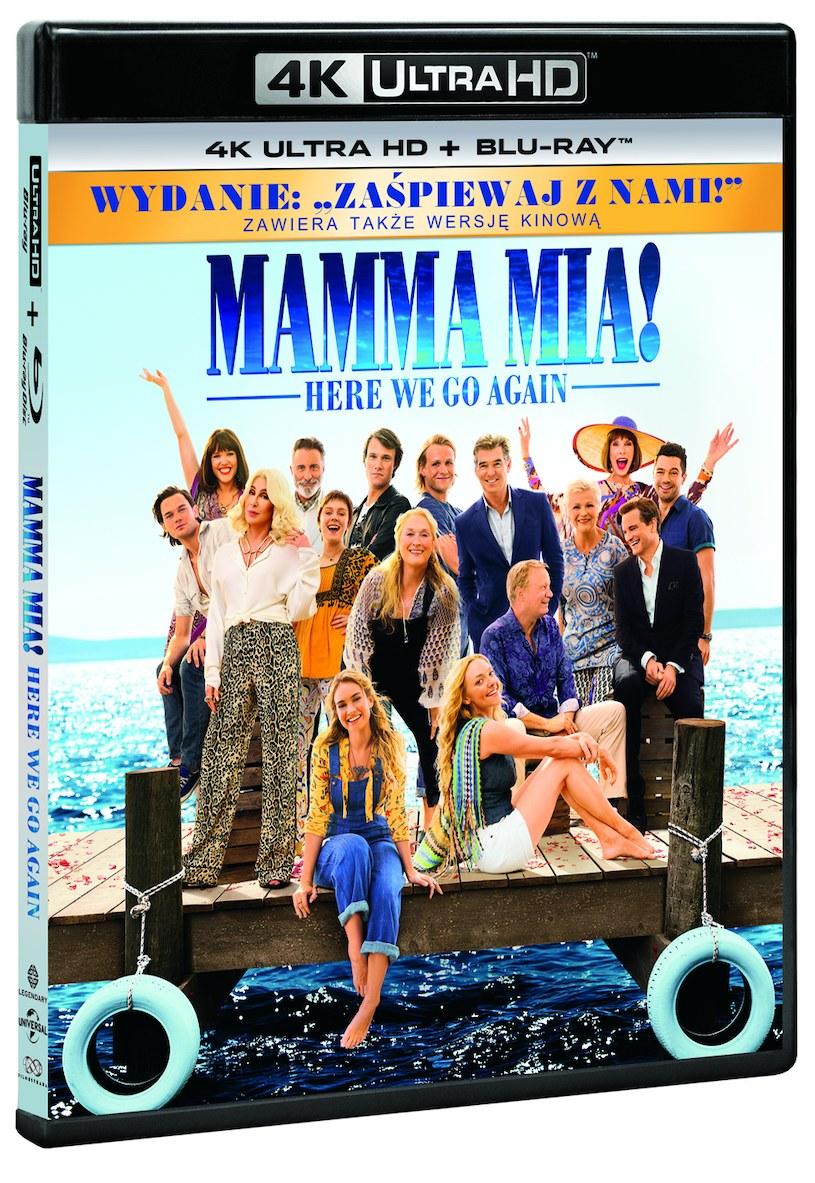 """""""Mamma Mia! Here We Go Again"""": Wydanie 4K Ultra HD /materiały prasowe"""