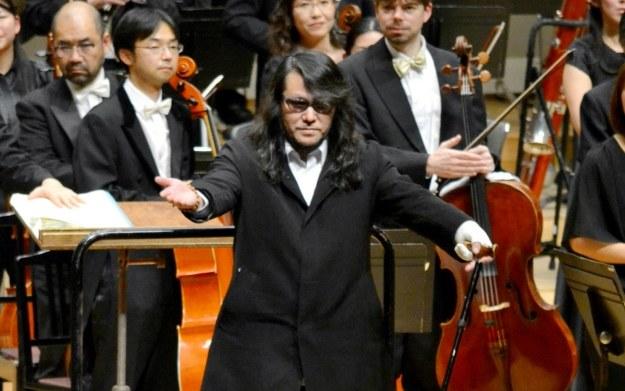 """Mamoru Samuragochi - zdjęcie """"japońskiego Beethovena"""" /AFP"""