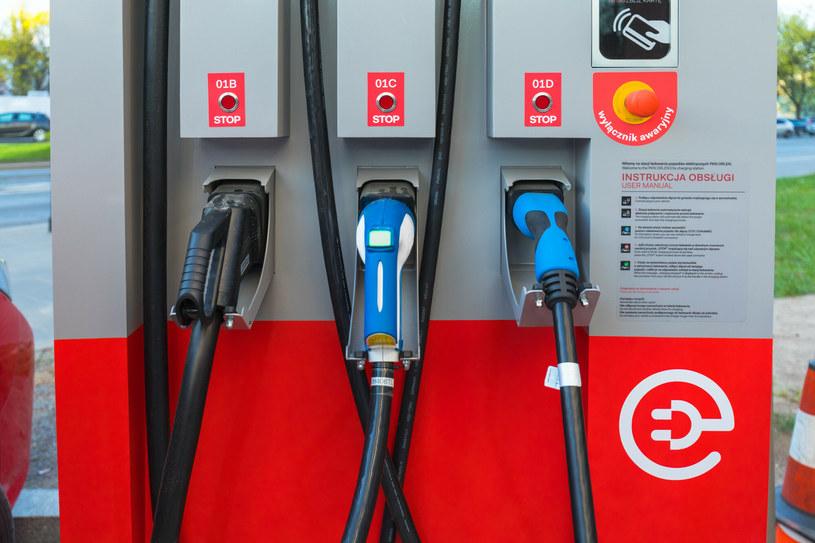 Mamy coraz więcej stacji ładowania samochodów elektrycznych. Kiedy pojawi się Izera - polskie auto elektryczne? /Arkadiusz Ziółek /East News